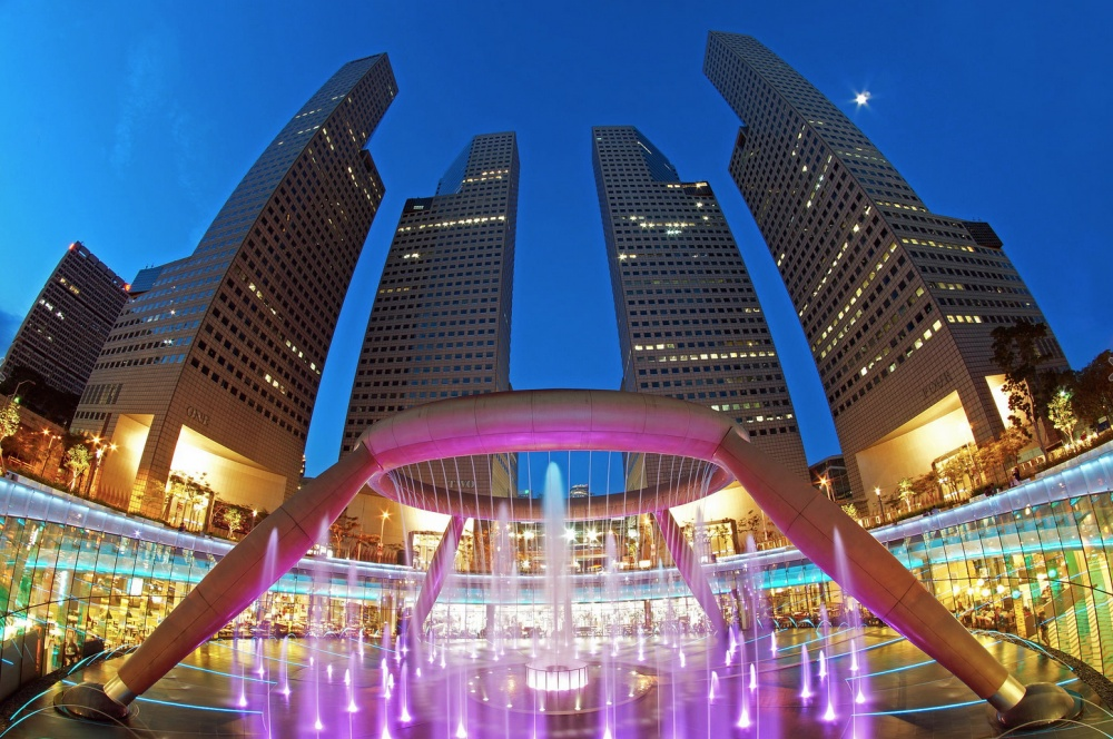 Fountain of wealth a Singapore