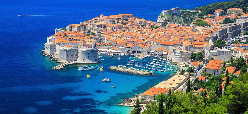 Il porto di Dubrovnik