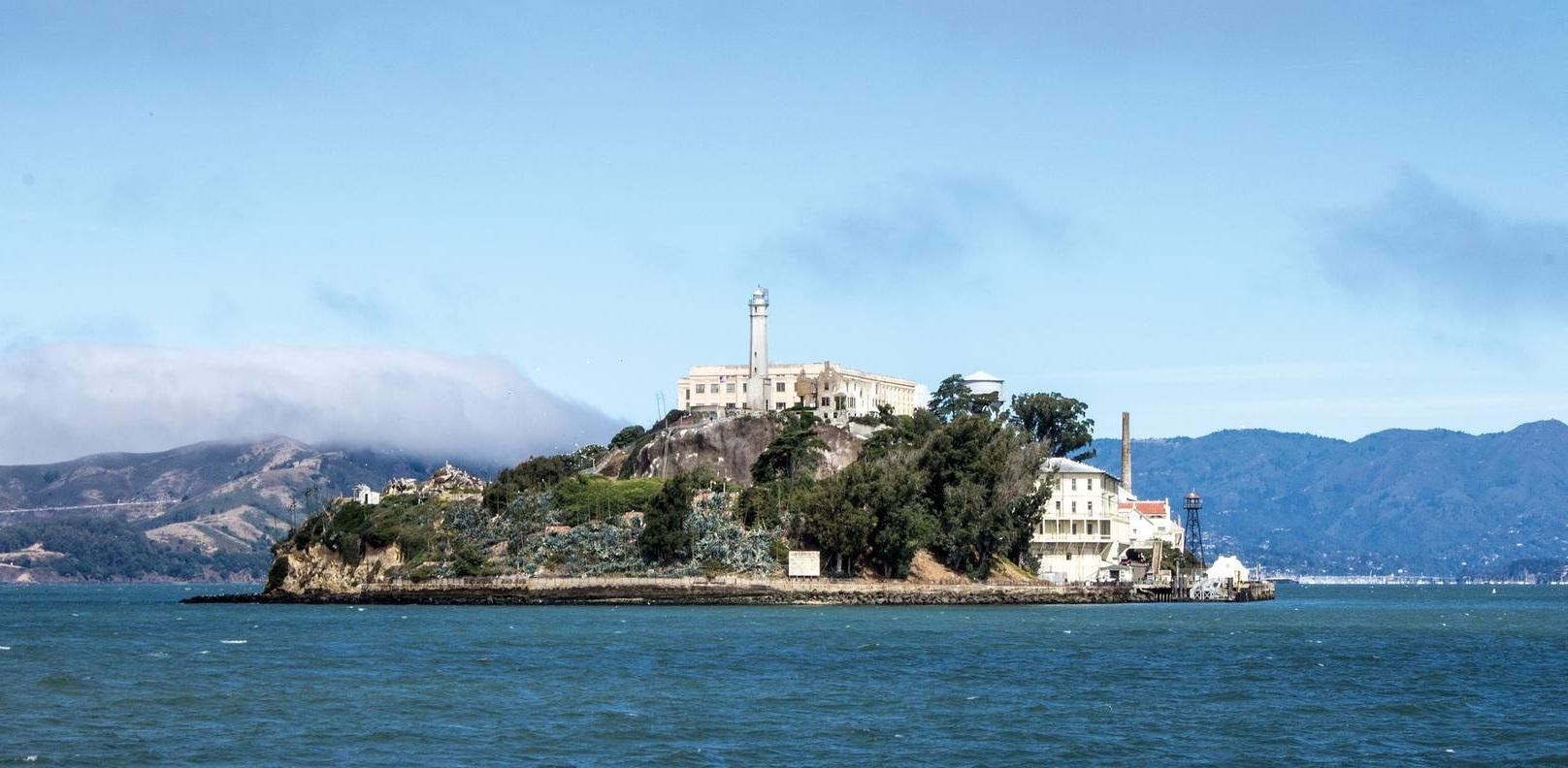 Alcatraz,nella Baia di San Francisco