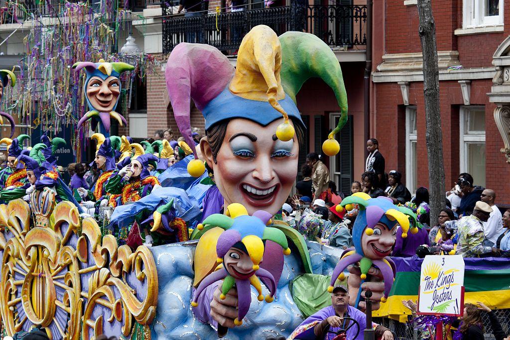 Mardì Gras a New Orleans
