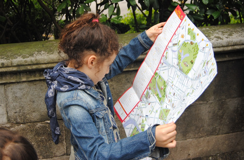 Sofia con laLondon Children's Map
