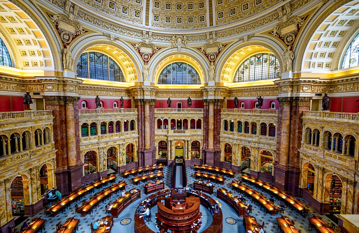 Le biblioteche più belle del mondo: Library of Congress a Washington DC