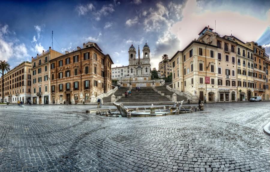 Le scalinate più belle del mondo - Scalinata di Piazza di Spagna