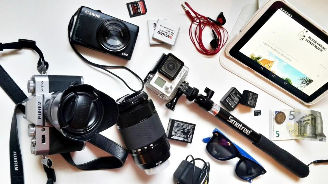 L'attrezzatura fotografica di un Travel Blogger