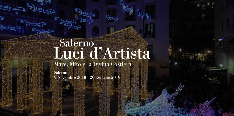 Luci d'Artista 2018 a Salerno