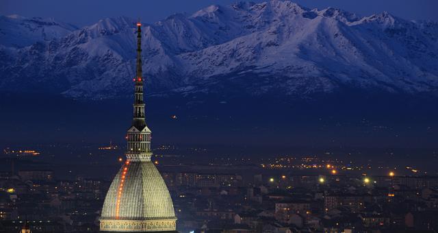 La Mole Antonelliana a Torino