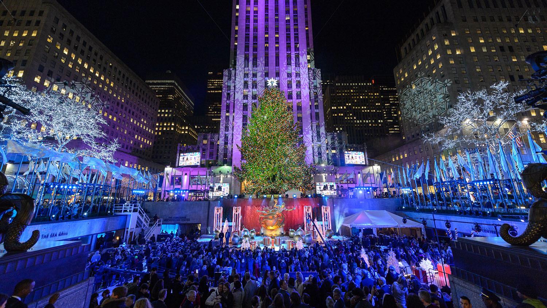 L'Albero di Natale del Rockefeller Center a New York