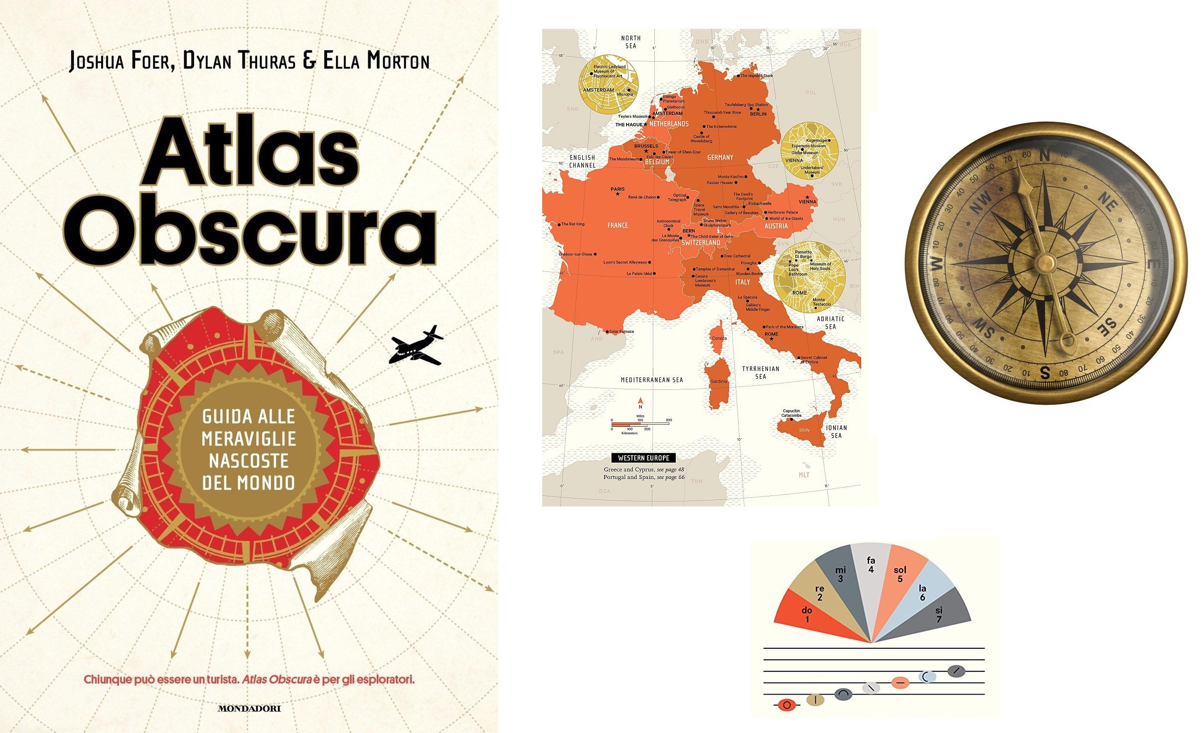 Regalate un libro sui viaggi: Atlas Obscura