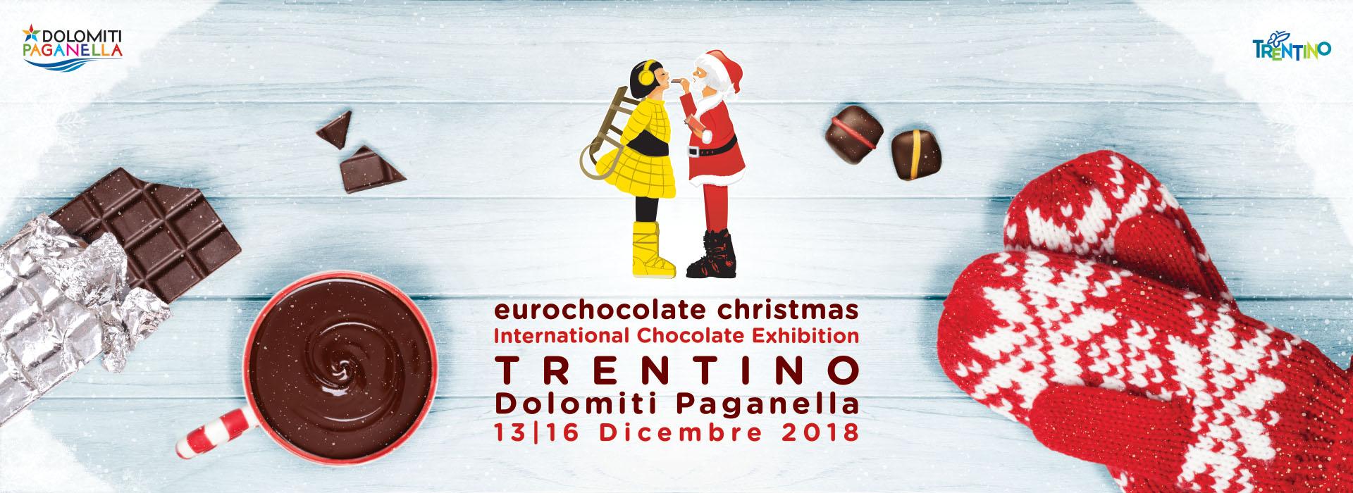 Eurochocolate Christmas in Trentino - Dal 13 al 16 dicembre 2018
