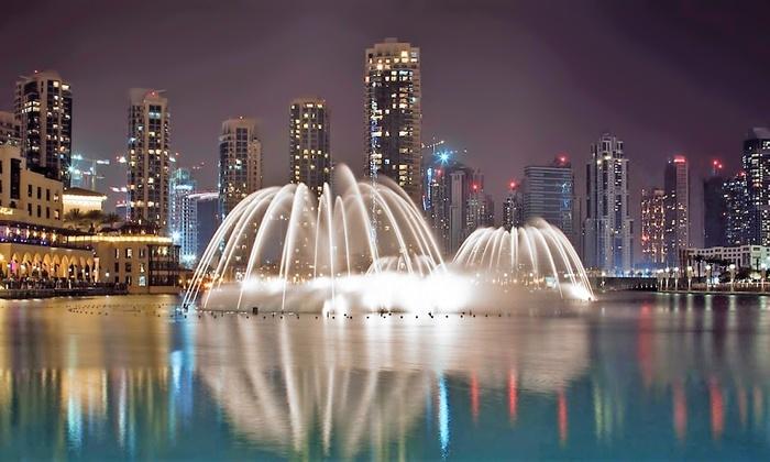 Le fontane danzanti di Dubai