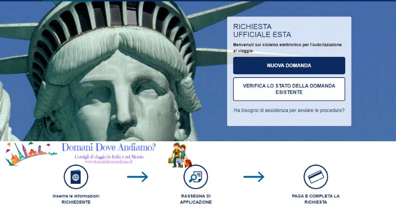 Come richiedere l'ESTA per andare negli Stati Uniti