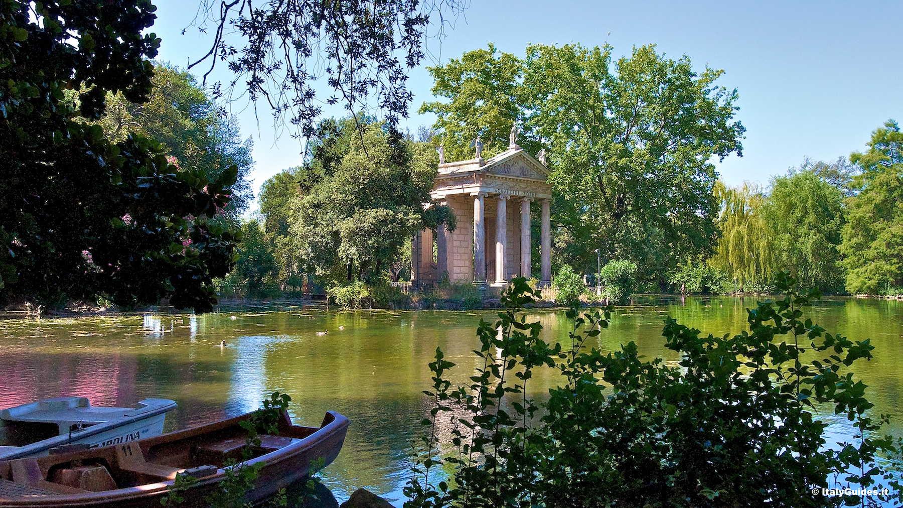 Parchi urbani: Villa Borghese