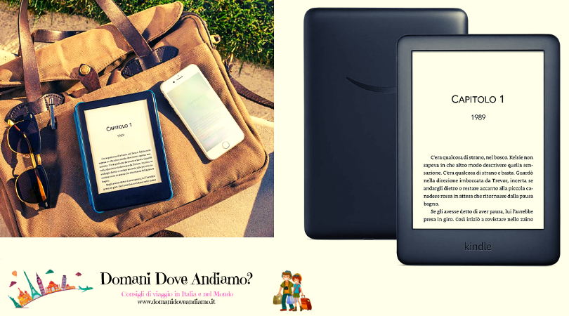 Amazon Kindle 2019: perfetto per chi viaggia!