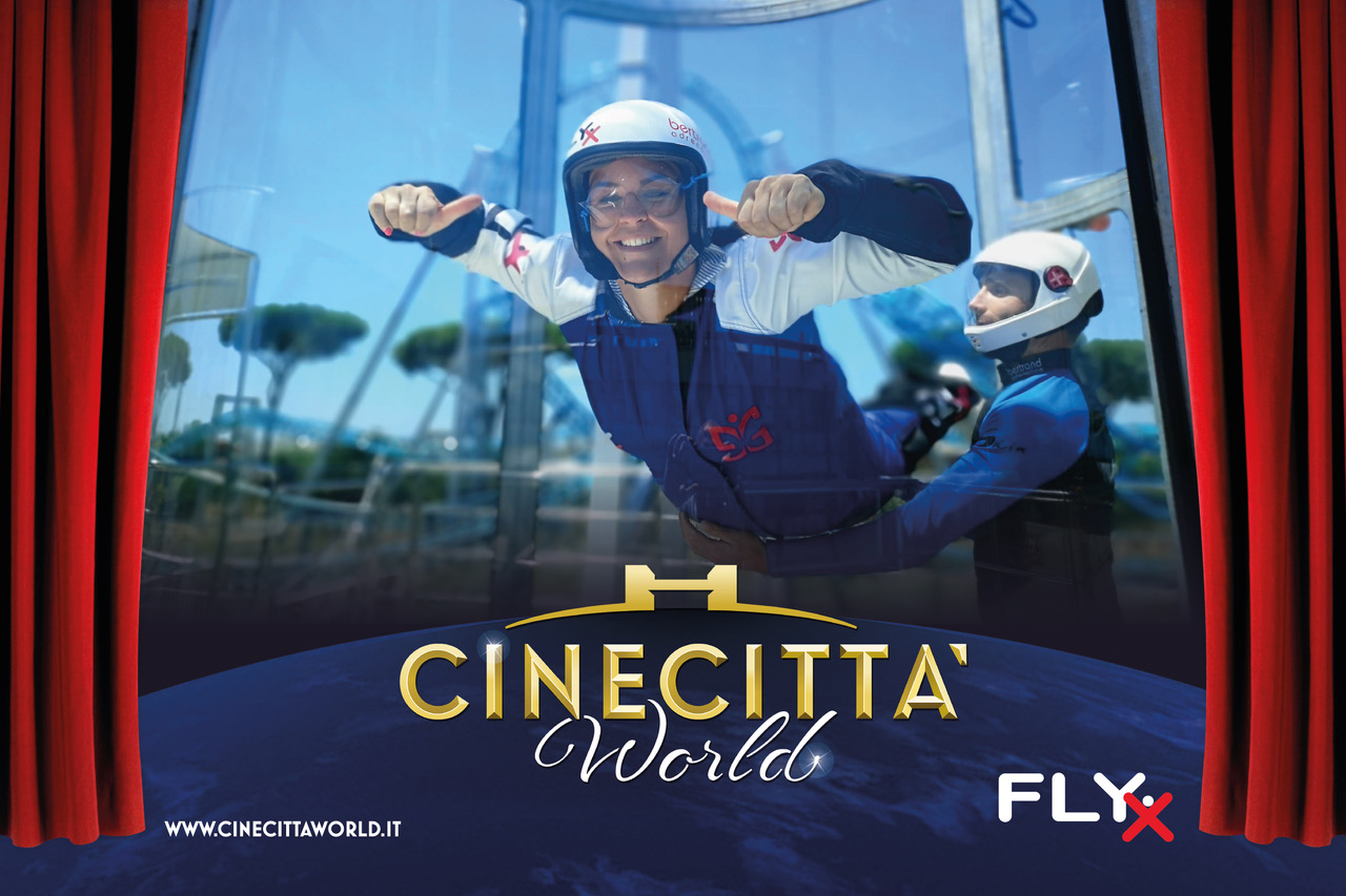 A Cinecittà World arriva FLY X: il paracadutismo indoor.