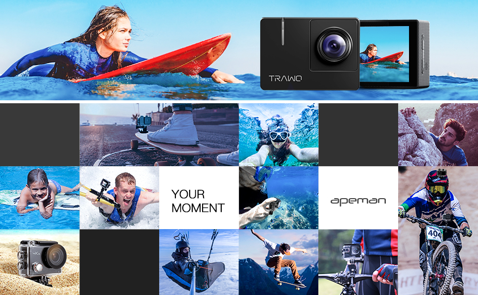 Le migliori Action Cam dell'Amazon Prime Day: Apeman A79