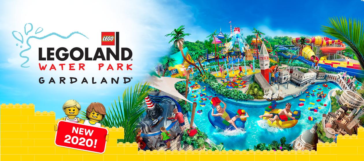 Nel 2020 a Gardaland arriva il Legoland Water Park