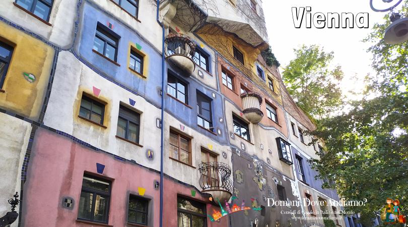 Cinque giorni a Vienna: Hundertwasserhaus