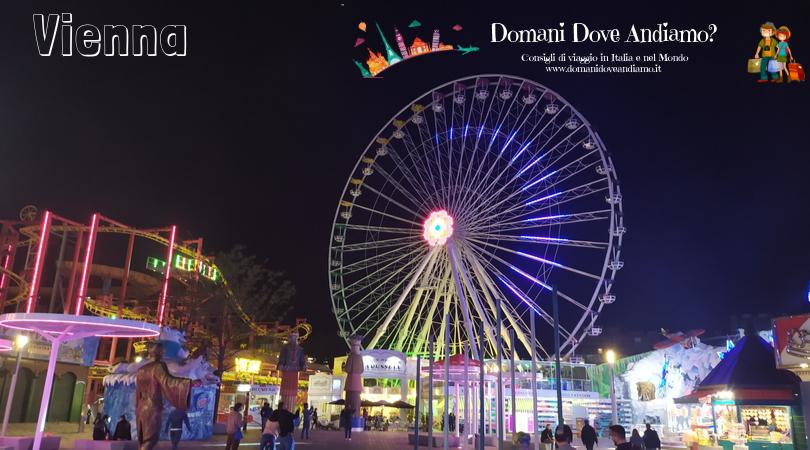 Cinque giorni a Vienna: la ruota panoramica del Prater