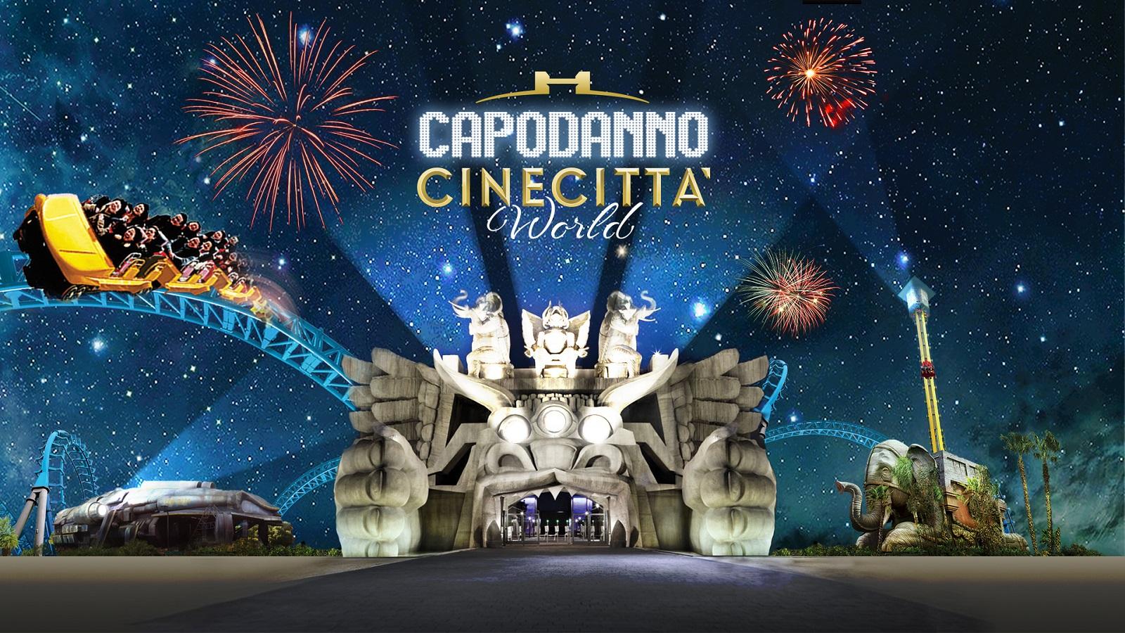 Il più grande Capodanno 2020 a Roma è quello di Cinecittà World