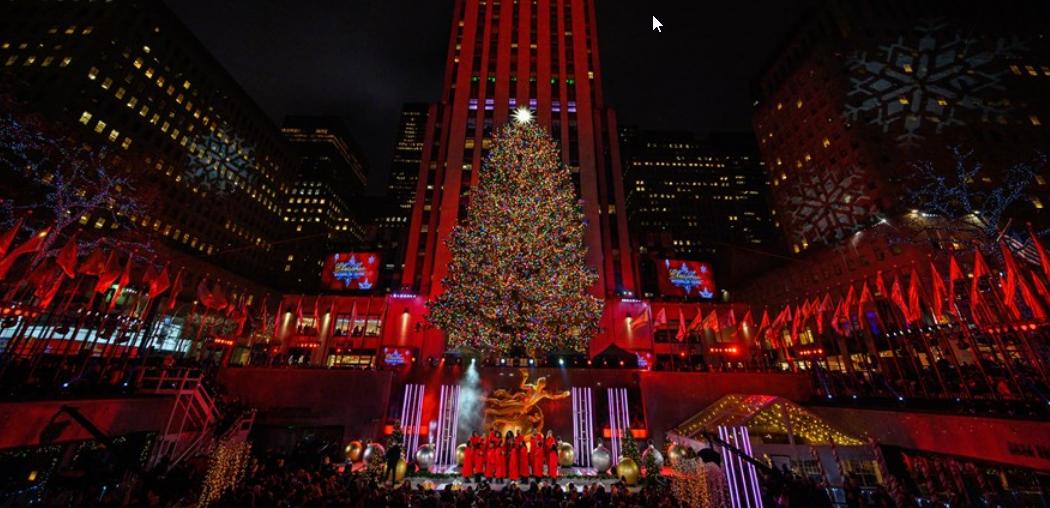 L'albero di Natale del Rockfeller Center