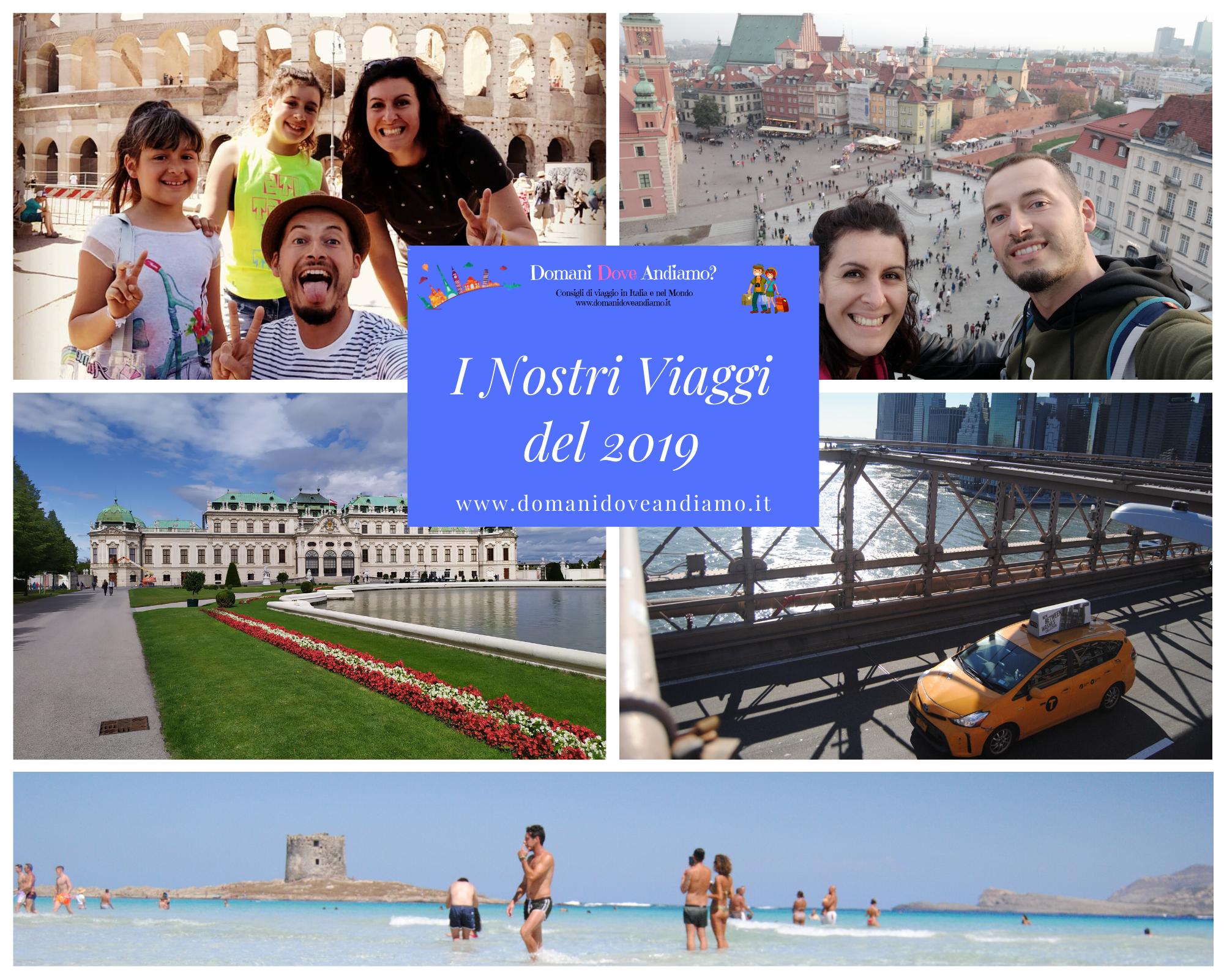 I Nostri Viaggi del 2019