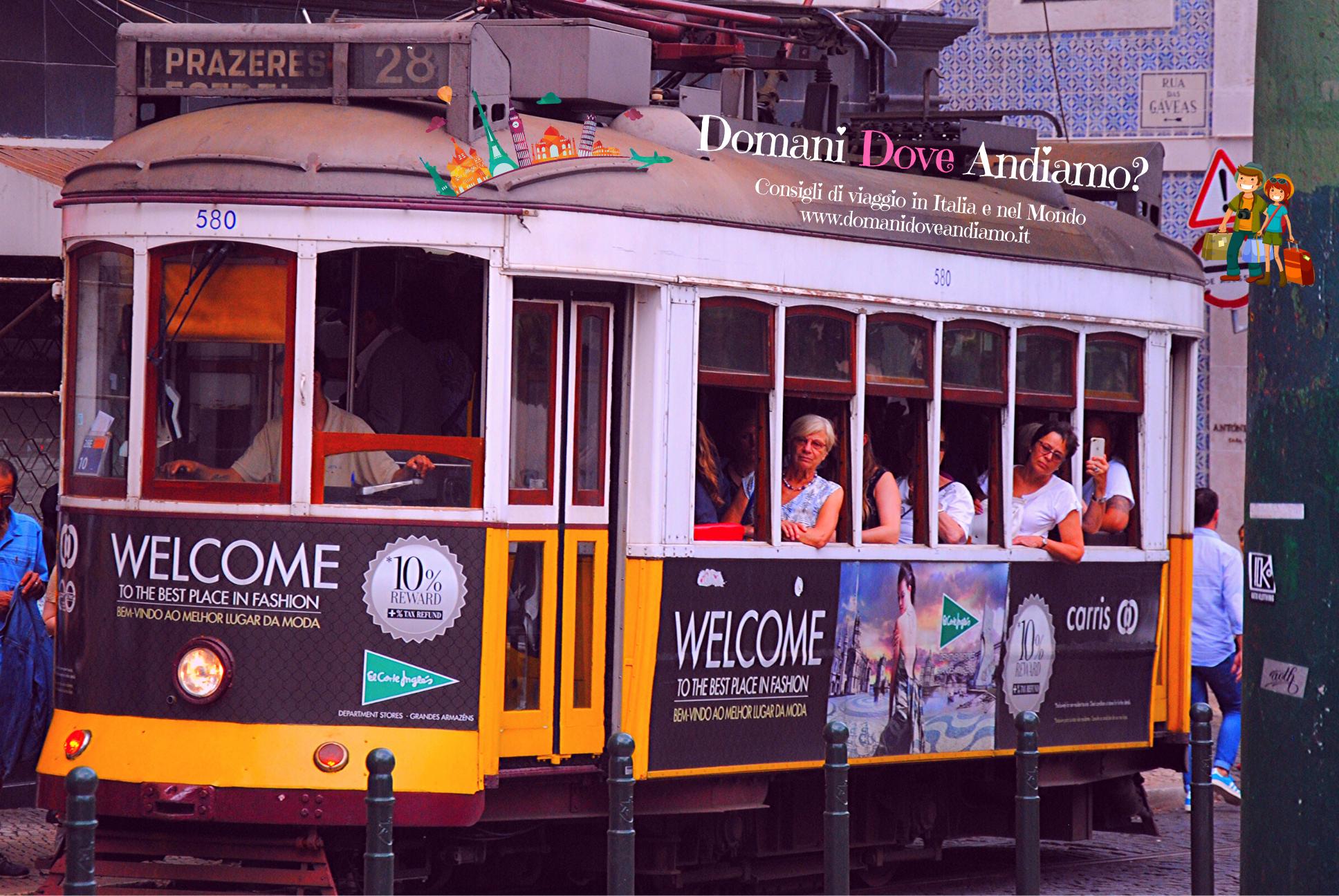 Il mitico tram 28 di Lisbona
