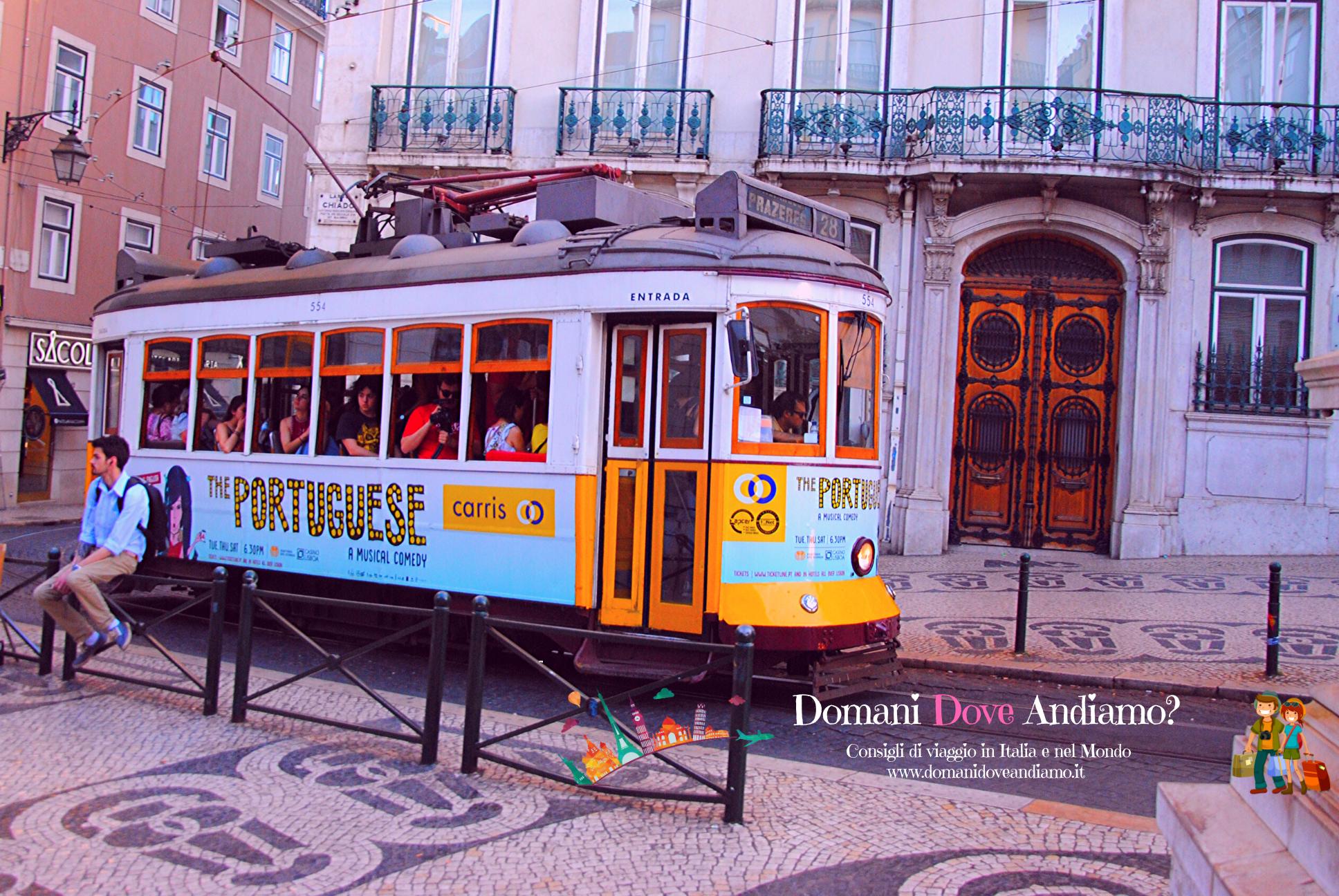 Il tram 28 di Lisbona