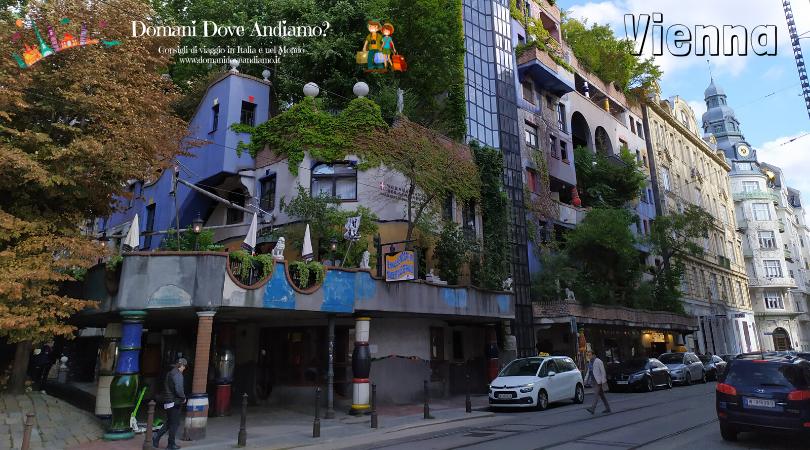 Hundertwasserhaus, la casa più famosa di Vienna