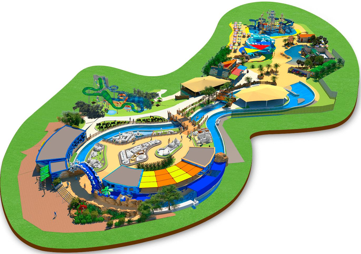 Ecco le attrazioni del nuovo LEGOLAND® Water Park Gardaland