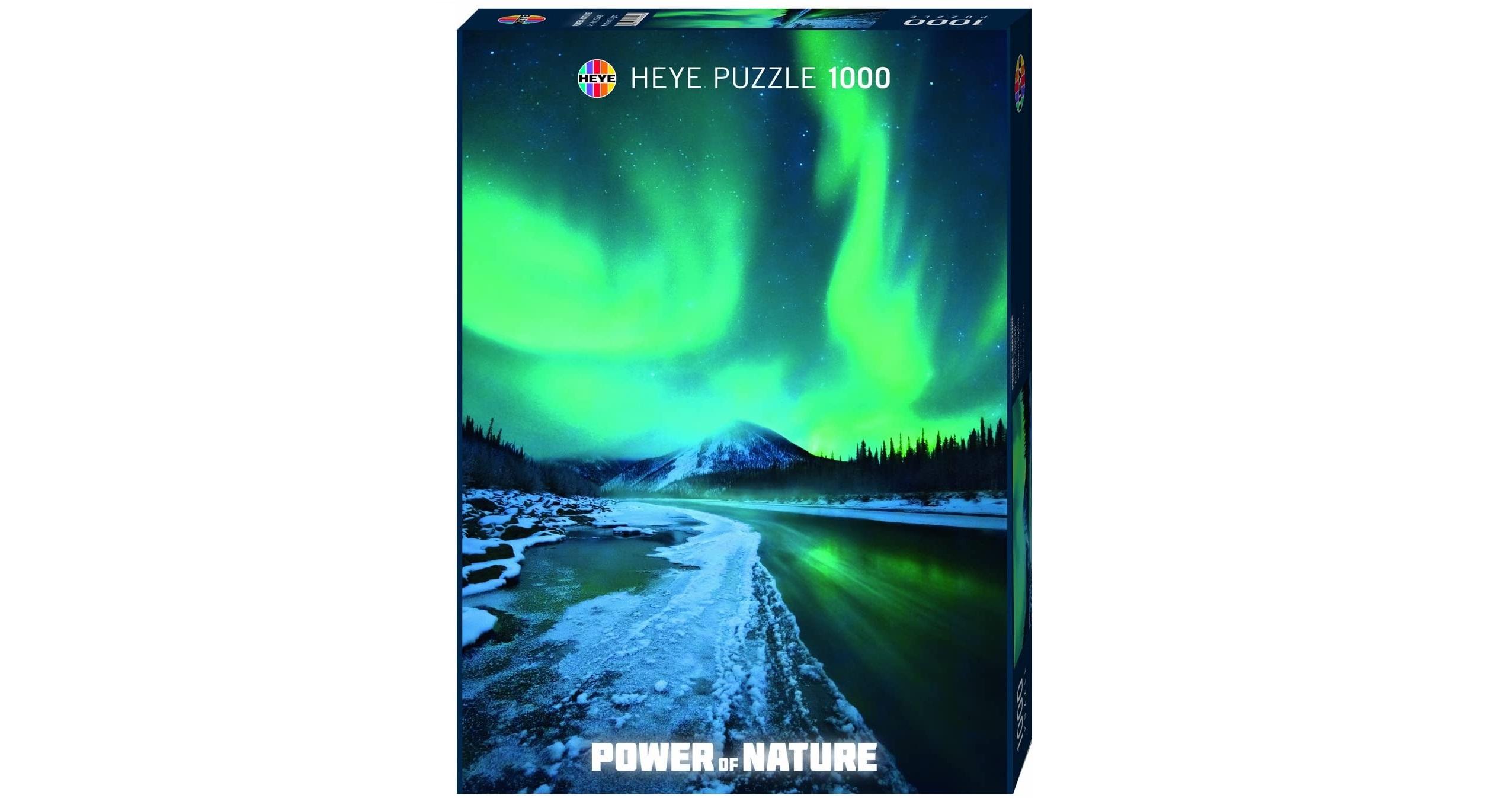 I Puzzle di viaggio più belli: Aurora Boreale (Heye)