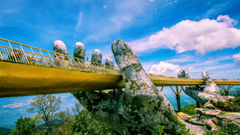 Il Golden Bridge di Da Nang