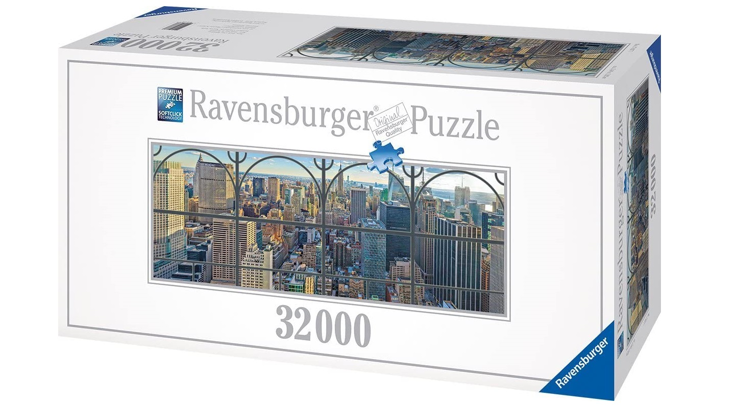 New York City Window Puzzle (Ravensburger)