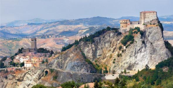 San Leo, un piccolo borgo medievale in provincia di Rimini