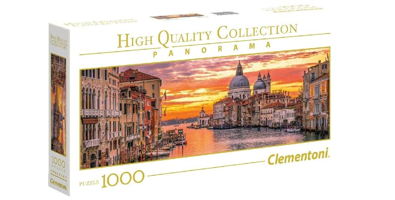 Canal Grande a Venezia (Clementoni) 1.000 Pezzi