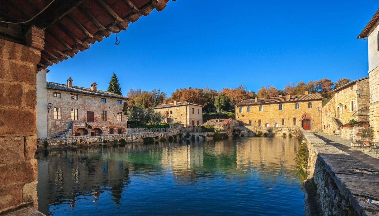 Ripartiamo dall'Italia: Bagno Vignoni