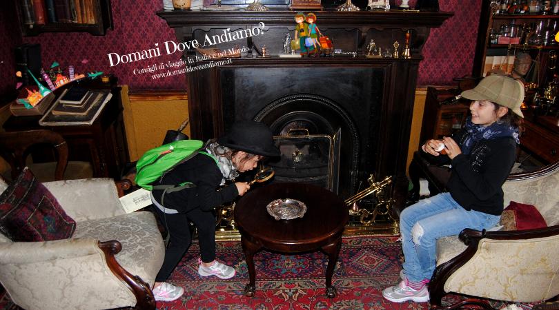 Dentro al museo di Sherlock Holmes