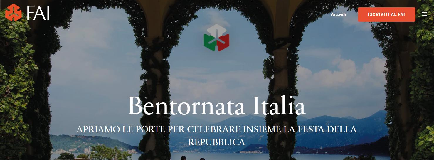 Bentornata Italia: il 2 giugno il FAI apre i suoi gioielli