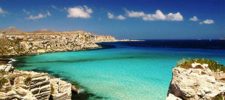 Le spiagge più belle della Sicilia: Cala Rossa, Isola di Favignana