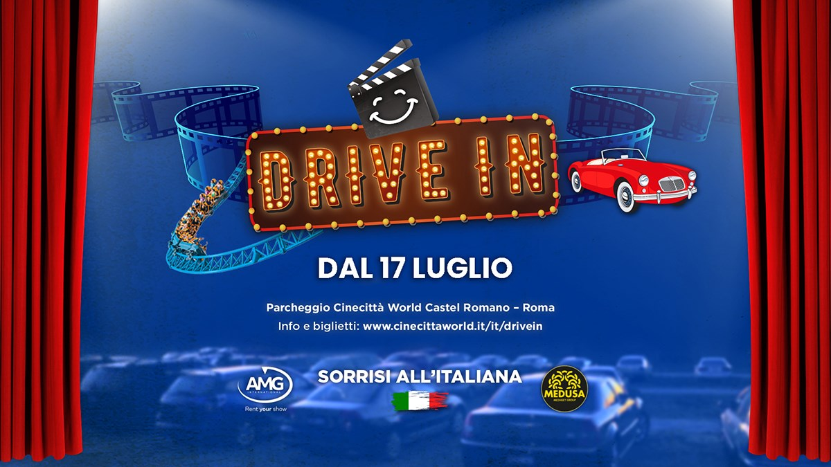 A Cinecittà World è tempo di DRIVE IN
