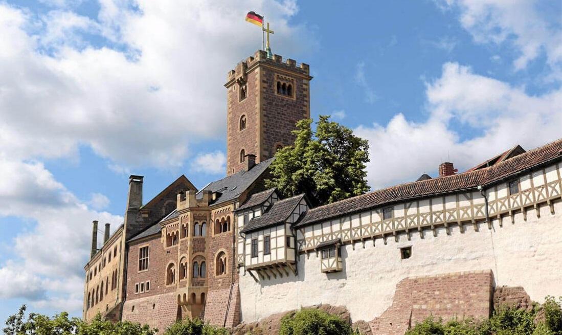 Castelli medievali: Schloss Wartburg