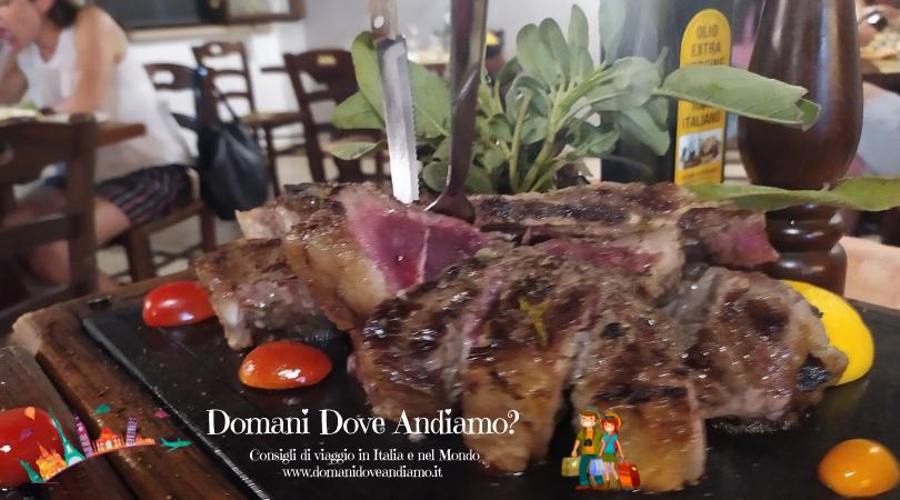 Trattoria da Sbrana: bistecca alla fiorentina